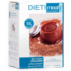 Chocolate Protein Flan
