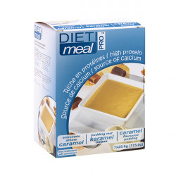 High Protein Caramel Shake or Pudding Mix