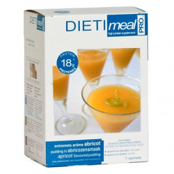 High Protein Apricot Flavoured Pudding