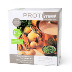 Instant soy high protein Parmentier