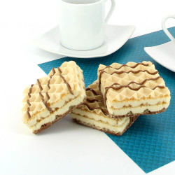 Cookie and Cream Flavoured Wafer