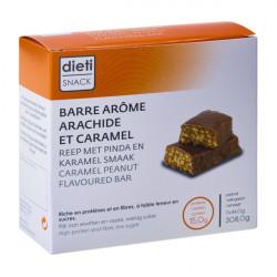 Caramel Peanut Protein bar
