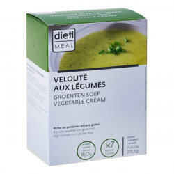 High protein cream of vegetable soup