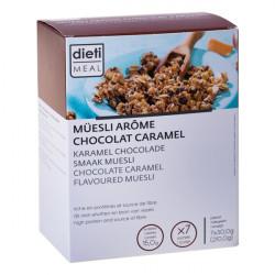 Chocolate Caramel Protein Muesli